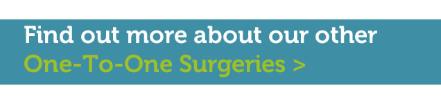 More info on one-to-one surgeries