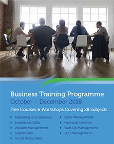 business gateway fife events brochure oct 18 tile
