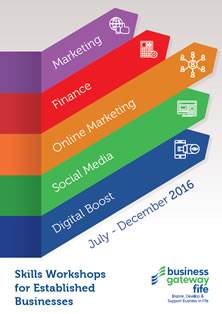 Business Gateway Fife Advanced Events Brochure july-dec 2016