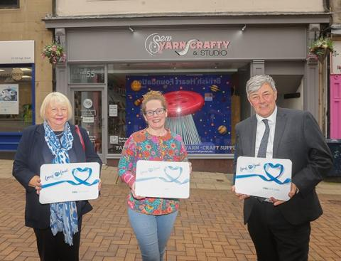 Launch of New Fife Loves Local Gift Card