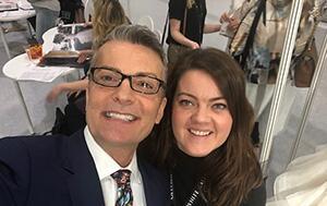 Amy King with Randy Fenoli