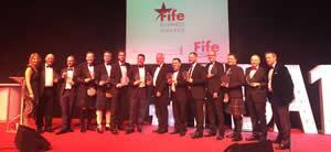 Winners of Fife Business Awards 2016