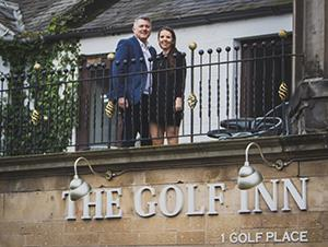 Award winning business couple take on The Golf Inn