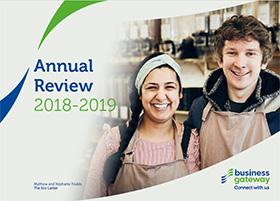 Business Gateway National Annual Review 2018-19