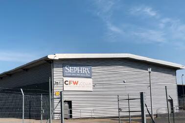 Sephra moves to new premises