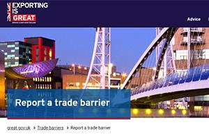 Report a Trade Barrier