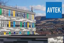 Avtek completes prlject at Firrhill High School