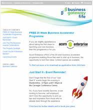 Business Gateway Fife Enews