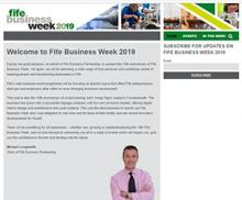 Fife Business Week 2019 Website