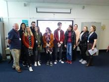 Brian McCormack speaks to Fife College Business Students