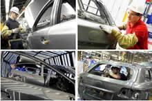 Toyota car production