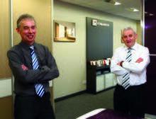 Ken Hunter and Peter Murphy from Komandor Scotland