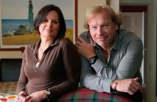 Moira and Paul Robertson